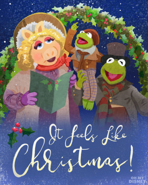 The Muppet Christmas Carol.The Muppets Christmas Carol Holiday Cards