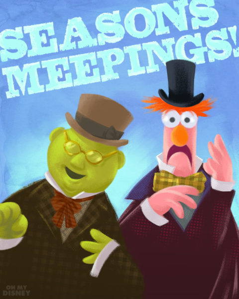 A Muppet Christmas Carol: The Muppets Christmas Carol Holiday Cards