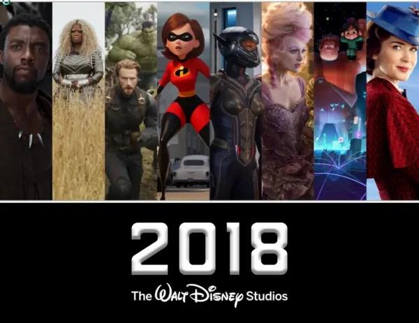 The 2018 Walt Disney Studios Slate is Now Available! 1