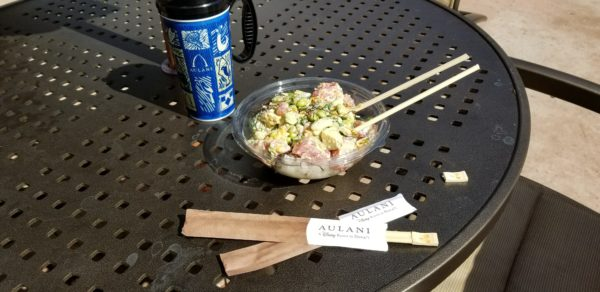 Build Your Own Poke Bowl at Disney's Aulani Resort in Hawaii