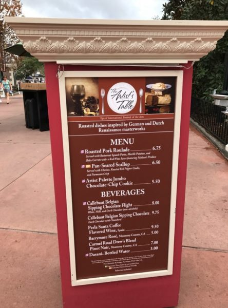PHOTOS: 2018 Epcot International Festival of the Arts Booths, Menus and Food 34