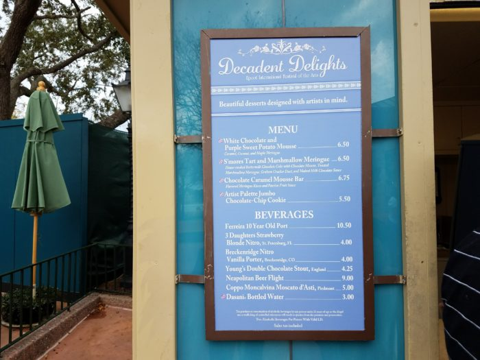 PHOTOS: 2018 Epcot International Festival of the Arts Booths, Menus and Food 87