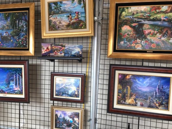 The Art and Decorations of Epcot's International Festival of the Arts 18