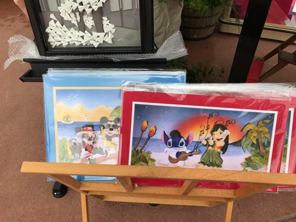 The Art and Decorations of Epcot's International Festival of the Arts 24