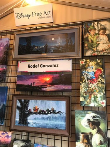 The Art and Decorations of Epcot's International Festival of the Arts 31