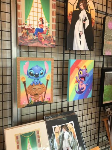 The Art and Decorations of Epcot's International Festival of the Arts 34