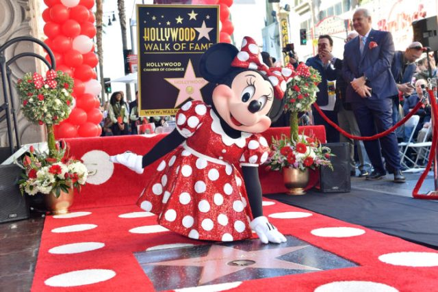 Minnie Mouse Receives Her Star on the Hollywood Walk of Fame 1