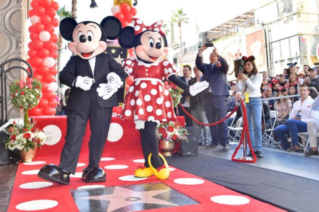 Minnie Mouse Receives Her Star on the Hollywood Walk of Fame 3