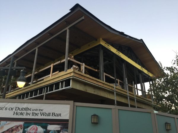 Photo Updates: Wine Bar George Construction at Disney Springs 1