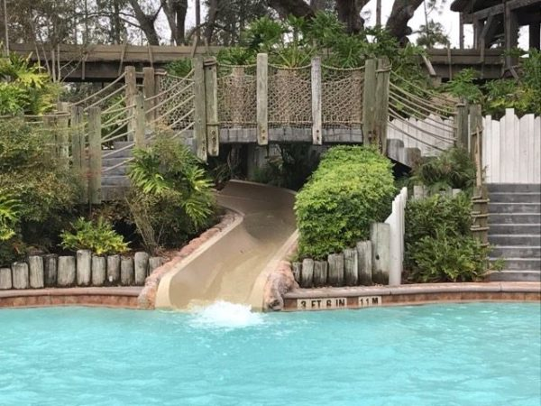 Disney World Pools Closed Due to weather