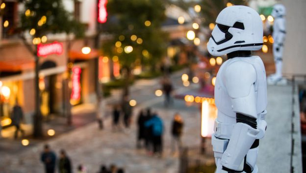 Hiding Stormtroopers at Disneytown in Shanghai and It's Your Job to Find Them 1