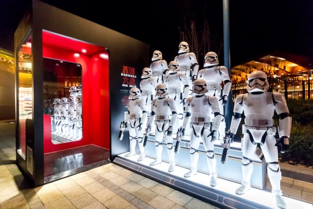 Hiding Stormtroopers at Disneytown in Shanghai and It's Your Job to Find Them 2