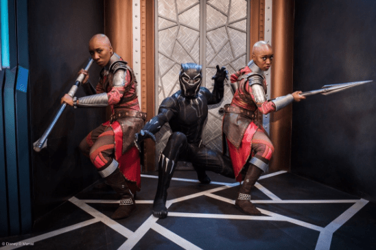 Photo Op Now Available with Black Panther at Disney California Adventure Park 1