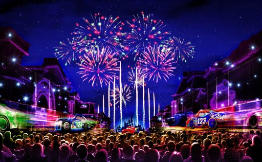 Behind the Scenes Look at the Recording Music for 'Together Forever – A Pixar Nighttime Spectacular' at Disneyland Park 1