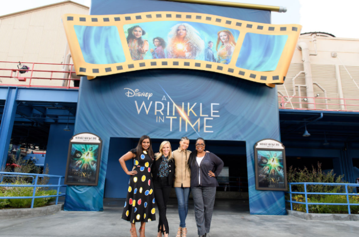 The Cast From 'A Wrinkle In Time' Surprised Guests At Disneyland 1