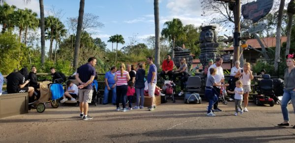 Spiting Tikis of Adventureland Removed