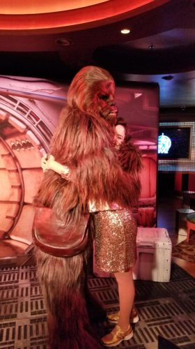 Star Wars Character Meets during Star Wars Day at Sea – Disney Cruise Line 7