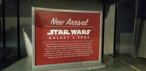 New Star Wars Galaxy's Edge Merchandise at Star Wars Launch Bay 1