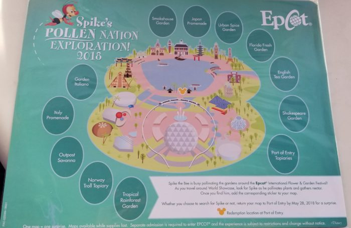 Spike's Pollen Nation Exploration