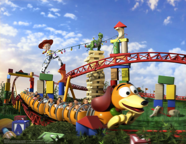 Concept Art and Videos of Upcoming Toy Story Land 1