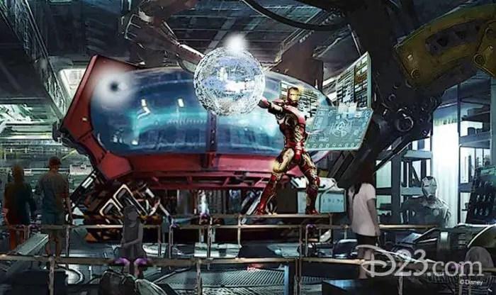 New Details On The Marvel Super Hero Universe That is Coming to Walt Disney Studios Park at Disneyland Paris. 1