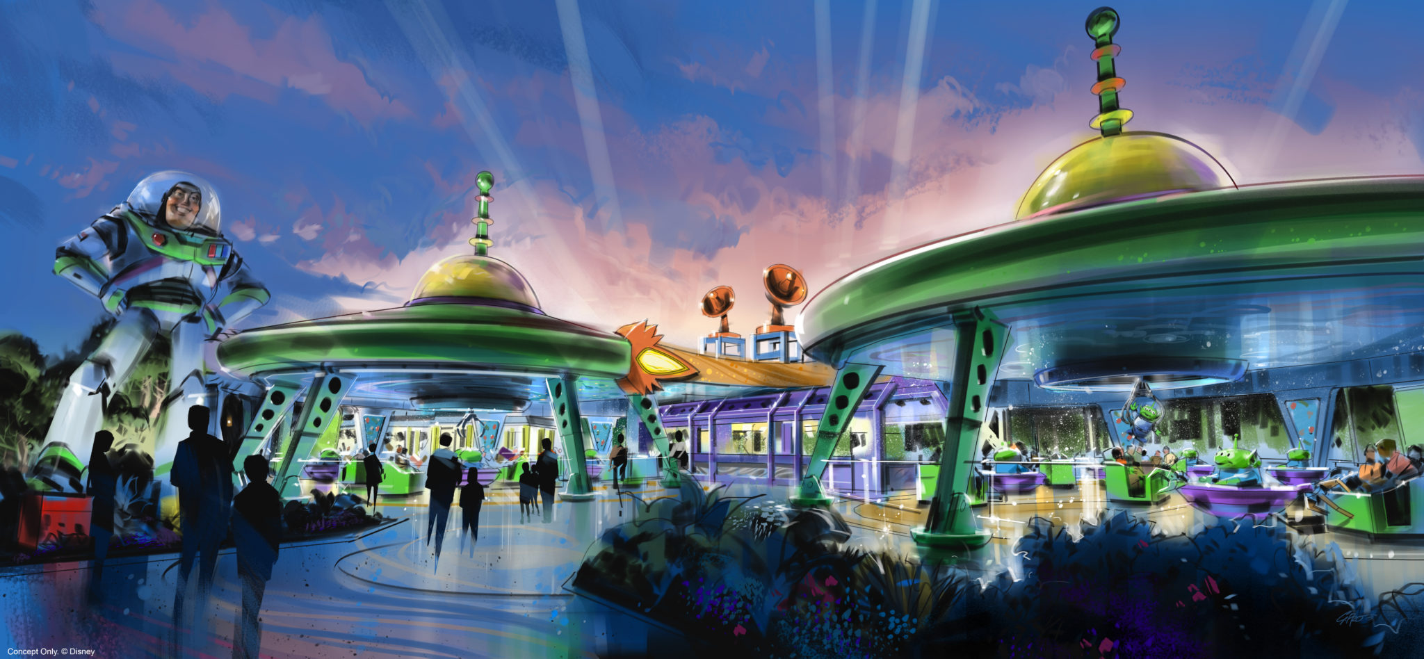 Everything We Know So Far About Alien Swirling Saucers In Toy Story Land 1