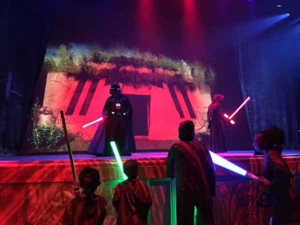 Jedi Training: Trials of the Temple - Star Wars Day at Sea – Disney Cruise Line 3