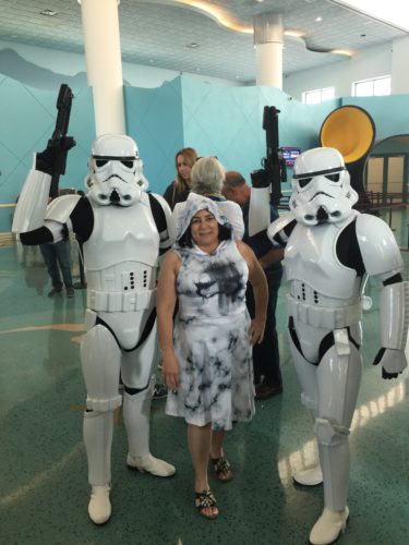 Star Wars Character Meets during Star Wars Day at Sea – Disney Cruise Line 2