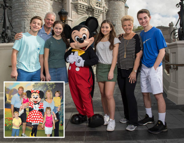 Joan Lunden loves Disney