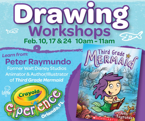 Crayola Experience Drawing Workshops