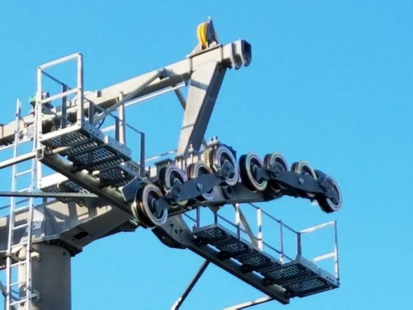 Disney Skyliner Construction Pictures from Pop Century Area 3