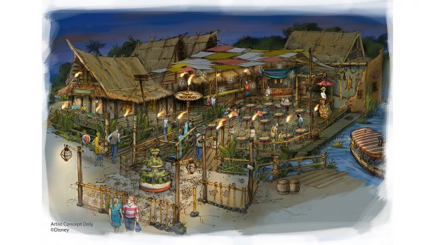 New Tropical Hideaway Area to Be Added to Adventureland in Disneyland 1