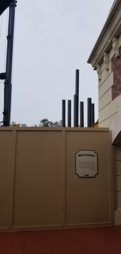 PHOTOS: The Skyliner is Going Vertical in Epcot! 6