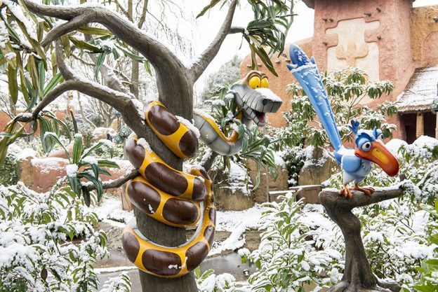 Disneyland Paris Snow