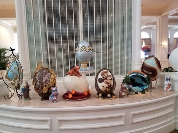 Grand Floridian Easter Egg Display Returns March 24th 3