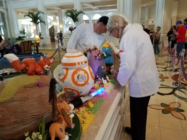 Grand Floridian Easter Egg Display Returns March 24th 2