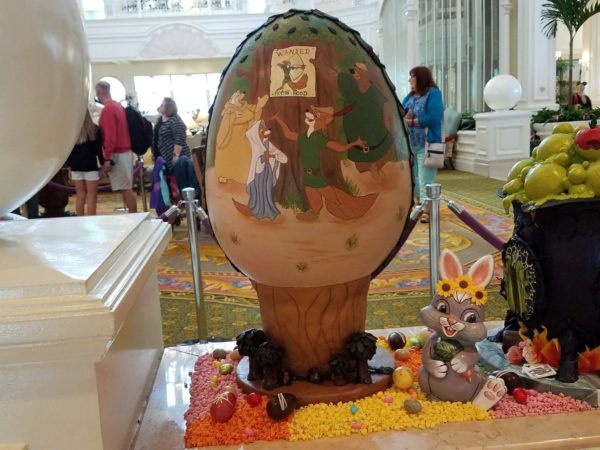 Grand Floridian Easter Egg Display Returns March 24th 5