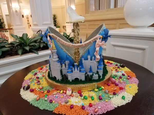 Grand Floridian Easter Egg Display Returns March 24th 1