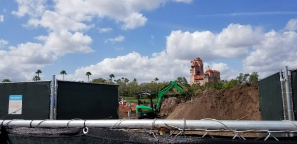 PHOTOS: Disney Skyliner Construction Update From Hollywood Studios Station 2