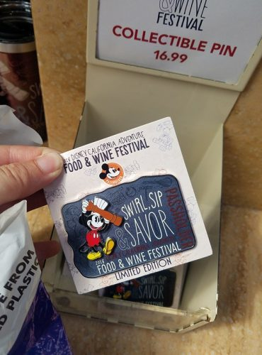 Disney California Adventure Food and Wine Festival Annual Passholder Merchandise 6
