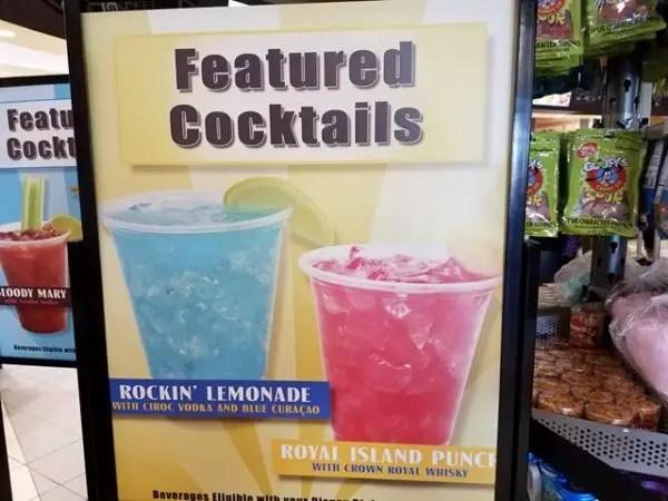 Intermission Food Court featured cocktails
