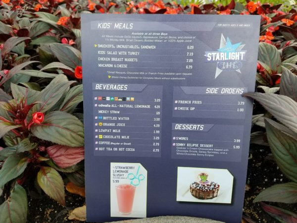 Sonny Eclipse Dessert And New Menus Debut At Cosmic Ray's In The Magic Kingdom 3