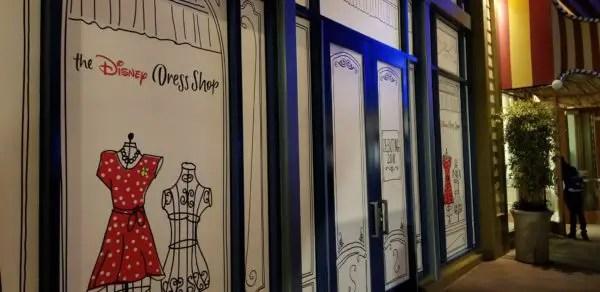 Disney Dress Shop moving