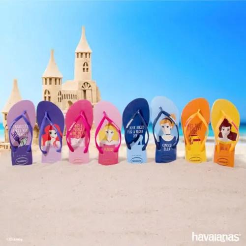 Princess Havaianas Flip Flops