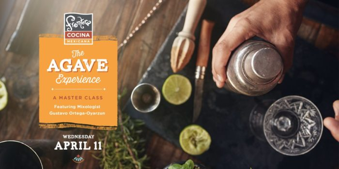 Frontera Cocina To Offer Agave Master Class on April 11th