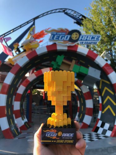 NEW! The Great LEGO Race VR Coaster - LEGOLAND Florida 1