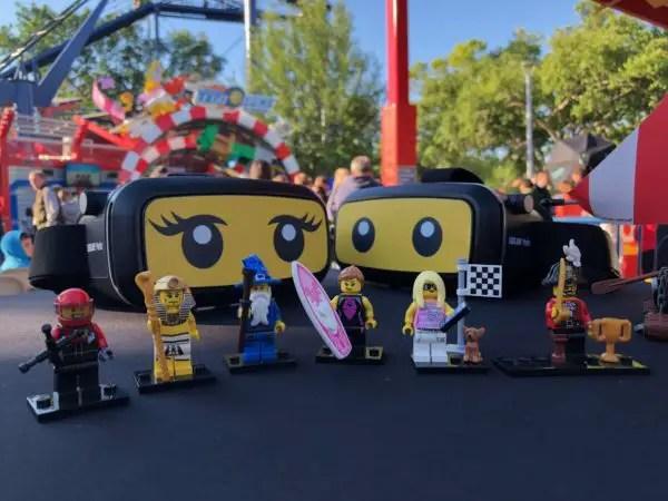 NEW! The Great LEGO Race VR Coaster - LEGOLAND Florida 9