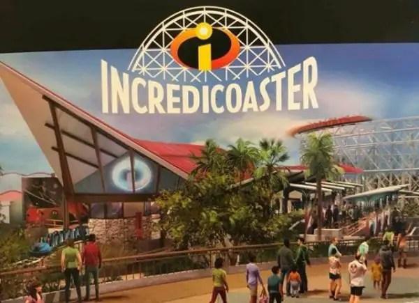 First Look at Disneyland's Incredicoaster Logo 1