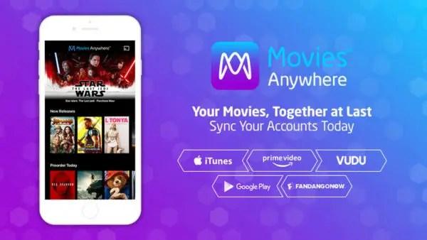 Movies Anywhere adds FandangoNOW