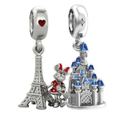 New Charms and a PANDORA Boutique Heading to Disneyland Paris